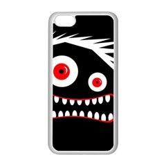 Crazy monster Apple iPhone 5C Seamless Case (White)