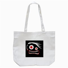 Crazy monster Tote Bag (White)
