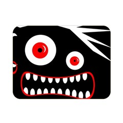 Crazy monster Double Sided Flano Blanket (Mini)