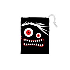 Crazy monster Drawstring Pouches (XS)