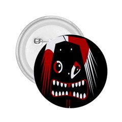 Zombie face 2.25  Buttons