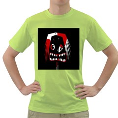 Zombie face Green T-Shirt