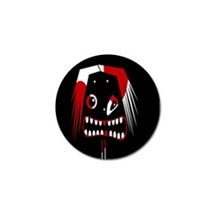 Zombie face Golf Ball Marker (4 pack)