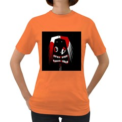Zombie face Women s Dark T-Shirt