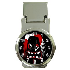 Zombie Face Money Clip Watches