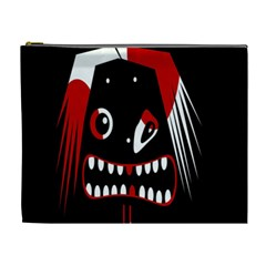 Zombie face Cosmetic Bag (XL)