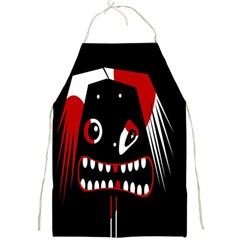 Zombie face Full Print Aprons