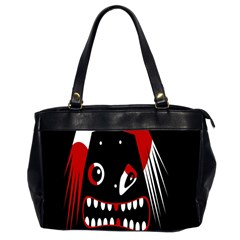 Zombie face Office Handbags (2 Sides)