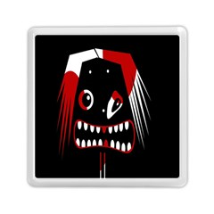 Zombie face Memory Card Reader (Square)
