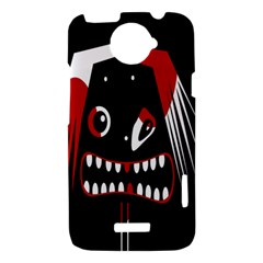 Zombie face HTC One X Hardshell Case