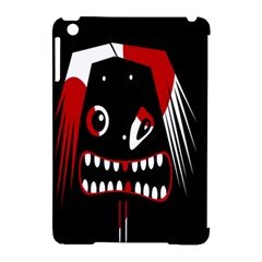 Zombie face Apple iPad Mini Hardshell Case (Compatible with Smart Cover)