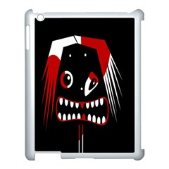 Zombie face Apple iPad 3/4 Case (White)