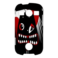 Zombie face Samsung Galaxy S7710 Xcover 2 Hardshell Case