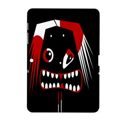 Zombie face Samsung Galaxy Tab 2 (10.1 ) P5100 Hardshell Case