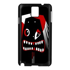 Zombie face Samsung Galaxy Note 3 N9005 Case (Black)