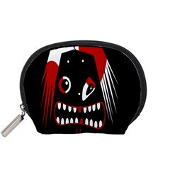 Zombie face Accessory Pouches (Small)
