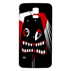 Zombie face Samsung Galaxy S5 Back Case (White)
