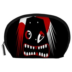 Zombie face Accessory Pouches (Large)