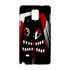 Zombie face Samsung Galaxy Note 4 Hardshell Case