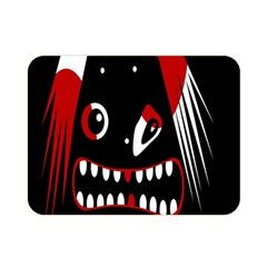Zombie face Double Sided Flano Blanket (Mini)