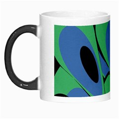 Peacock Pattern Morph Mugs