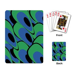 Peacock pattern Playing Card