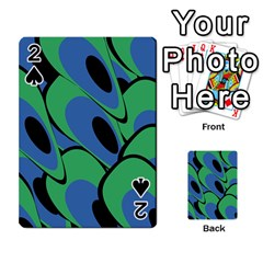 Peacock pattern Playing Cards 54 Designs
