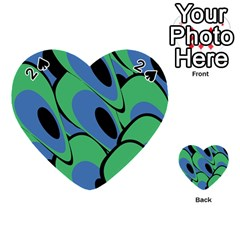 Peacock pattern Playing Cards 54 (Heart)