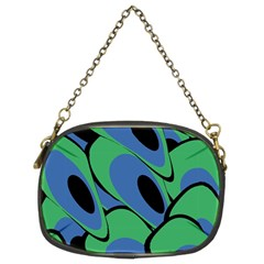 Peacock pattern Chain Purses (Two Sides)