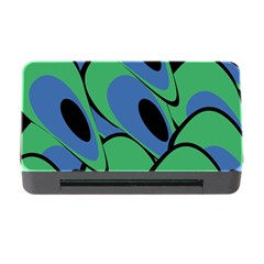 Peacock pattern Memory Card Reader with CF