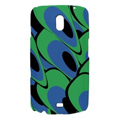 Peacock pattern Samsung Galaxy Nexus i9250 Hardshell Case
