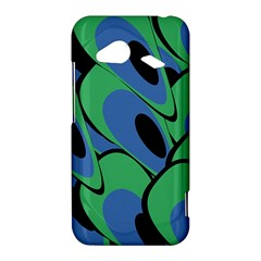 Peacock pattern HTC Droid Incredible 4G LTE Hardshell Case