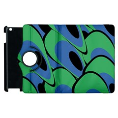 Peacock Pattern Apple Ipad 3/4 Flip 360 Case