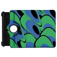 Peacock pattern Kindle Fire HD Flip 360 Case