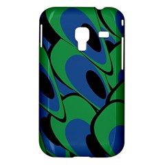 Peacock pattern Samsung Galaxy Ace Plus S7500 Hardshell Case