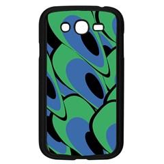 Peacock pattern Samsung Galaxy Grand DUOS I9082 Case (Black)