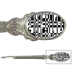 Black and white pattern Letter Openers