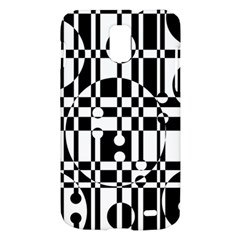 Black and white pattern Samsung Galaxy S II Skyrocket Hardshell Case