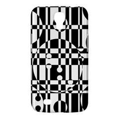 Black and white pattern Samsung Galaxy Mega 6.3  I9200 Hardshell Case