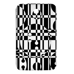 Black and white pattern Samsung Galaxy Tab 3 (7 ) P3200 Hardshell Case
