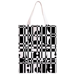 Black and white pattern Classic Light Tote Bag