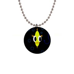 Yellow fish Button Necklaces