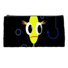 Yellow fish Pencil Cases