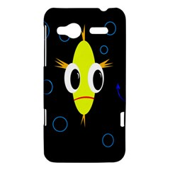 Yellow fish HTC Radar Hardshell Case