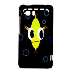 Yellow fish HTC Vivid / Raider 4G Hardshell Case