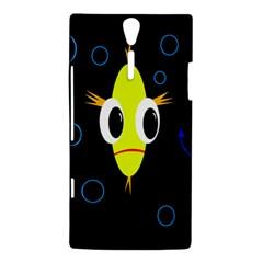 Yellow fish Sony Xperia S
