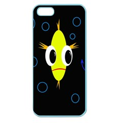 Yellow fish Apple Seamless iPhone 5 Case (Color)