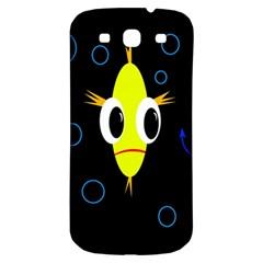 Yellow fish Samsung Galaxy S3 S III Classic Hardshell Back Case