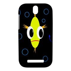 Yellow fish HTC One SV Hardshell Case