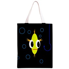 Yellow fish Classic Light Tote Bag